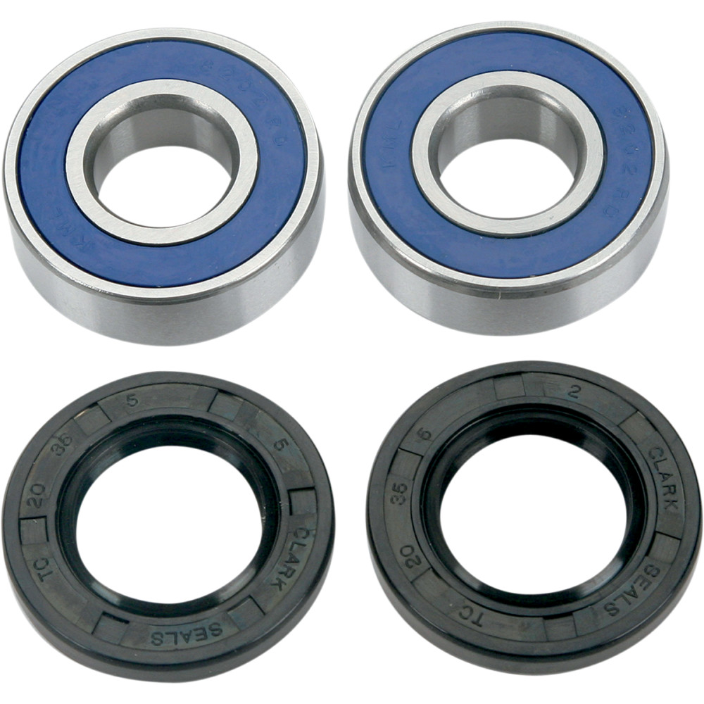Moose Racing Wheel Bearing Kit - Double Lip - Yamaha/Kawasaki