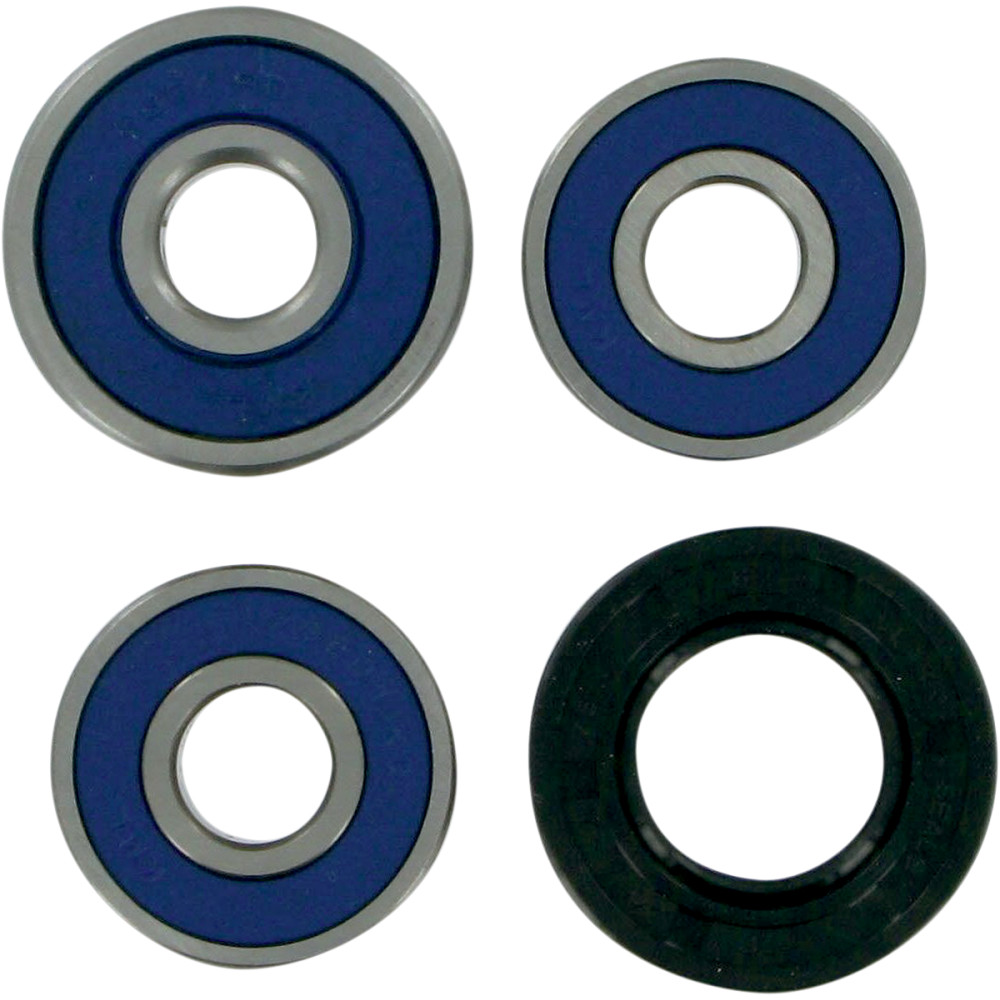 Moose Racing Wheel Bearing Kit - Double Lip - Rear - KLX/DRZ