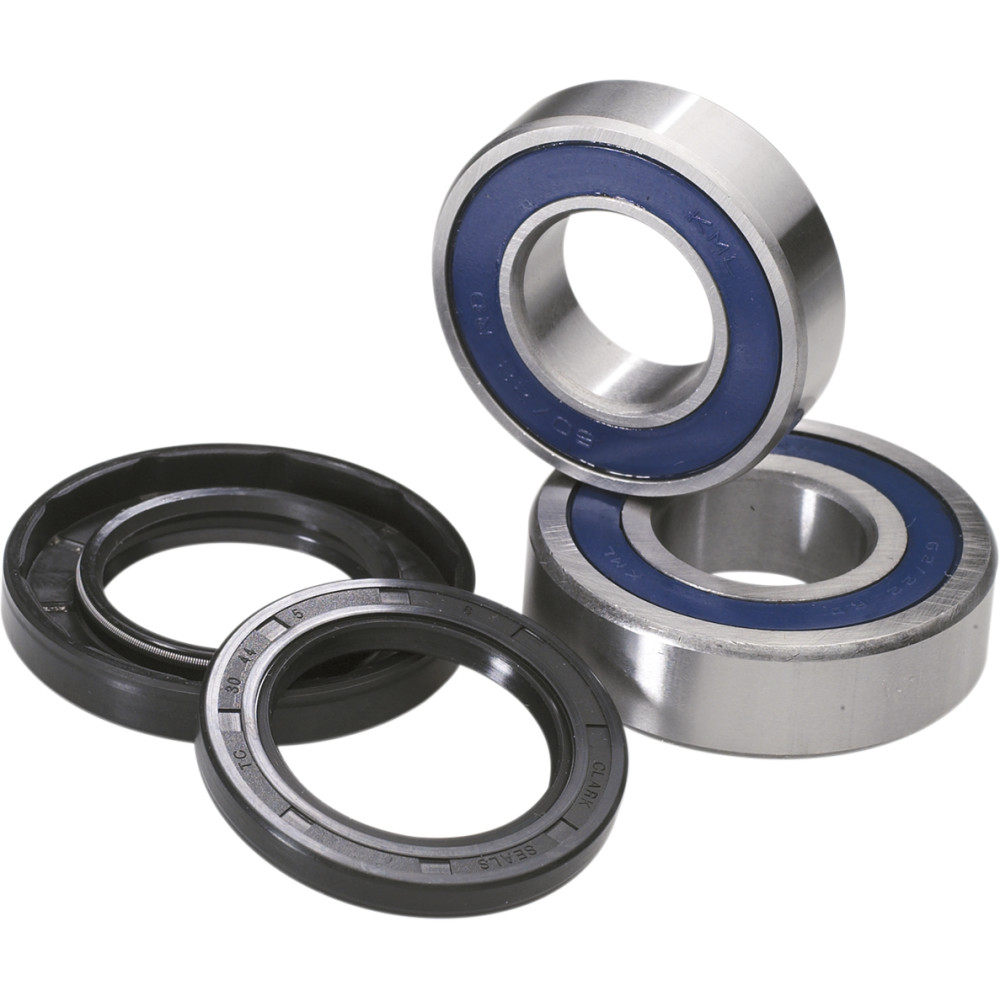 Moose Racing Wheel Bearing Kit - Double Lip - Rear - Honda