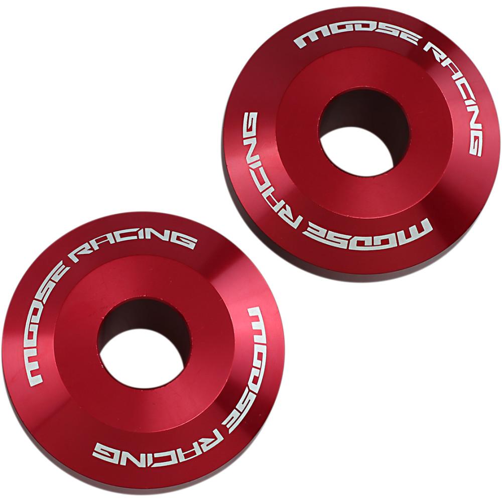 Moose Racing Fast Wheel Spacers - Rear - Red - Beta