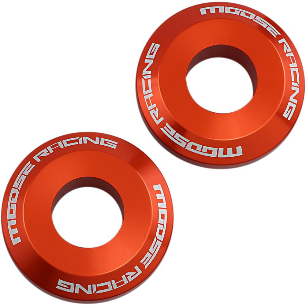 Moose Racing Fast Wheel Spacers - Rear - Orange - KTM