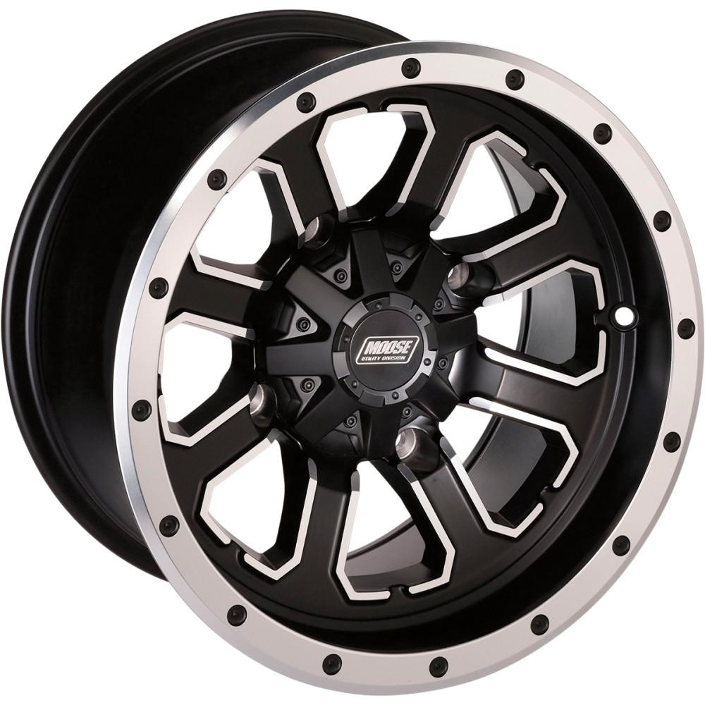 Moose Utility Division Wheel - Standard Lip - 548M - 12X8 - 4/136 - 4+4