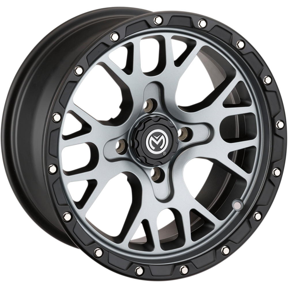 Moose Utility Division Wheel - 545MO - Satin Gray - 14X7 - 4/110