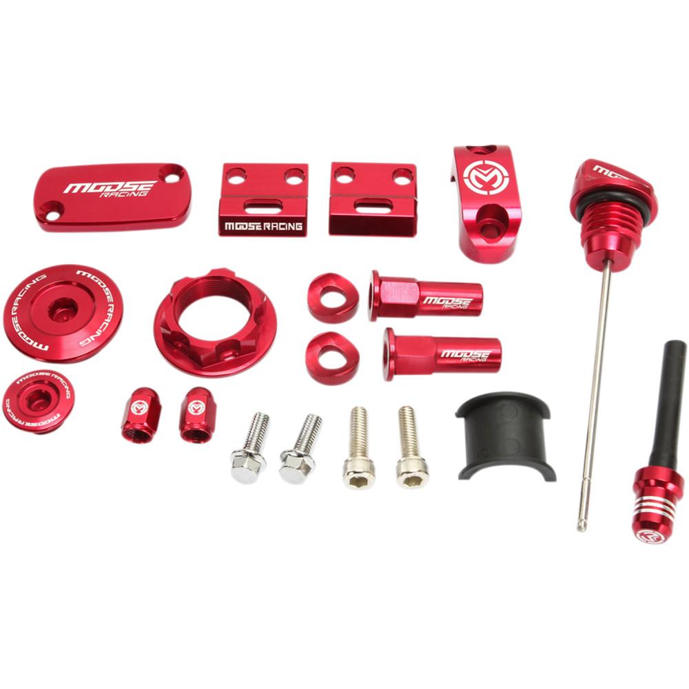 Moose Racing Bling Packs - Honda - Red