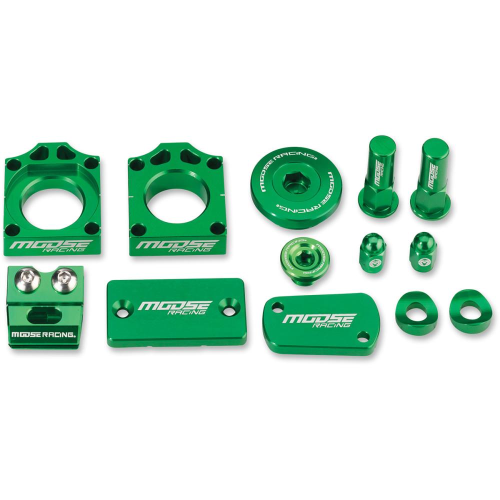 Moose Racing Bling Packs - Kawasaki - Green