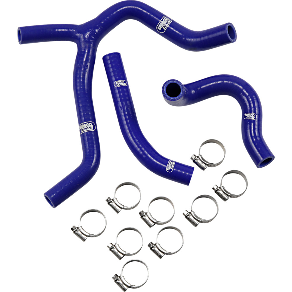 Moose Racing Radiator Hose Kit - Blue - Honda