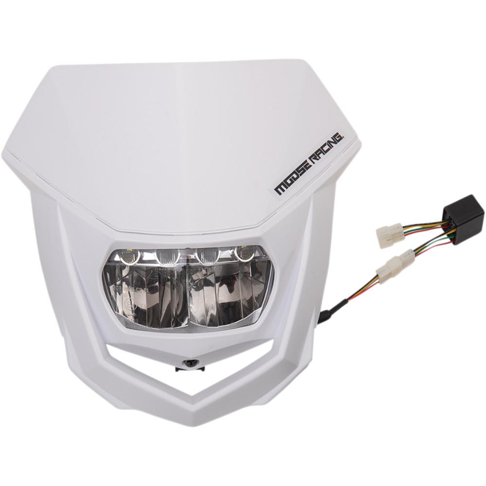 Moose Racing Halo LED Headlight - White