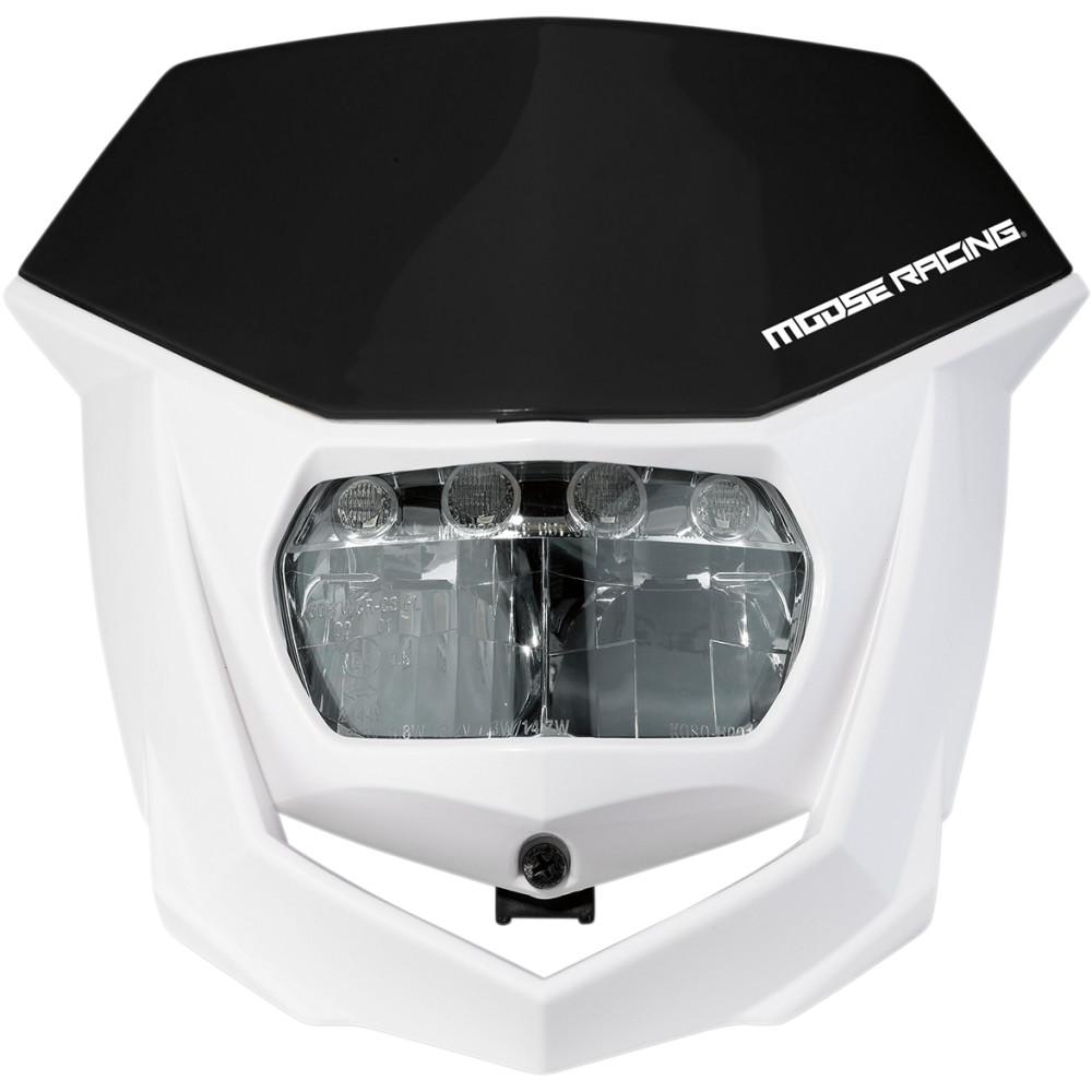 Moose Racing Halo LED Headlight - Black