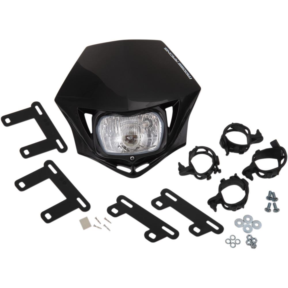 Moose Racing MMX Headlight - Black