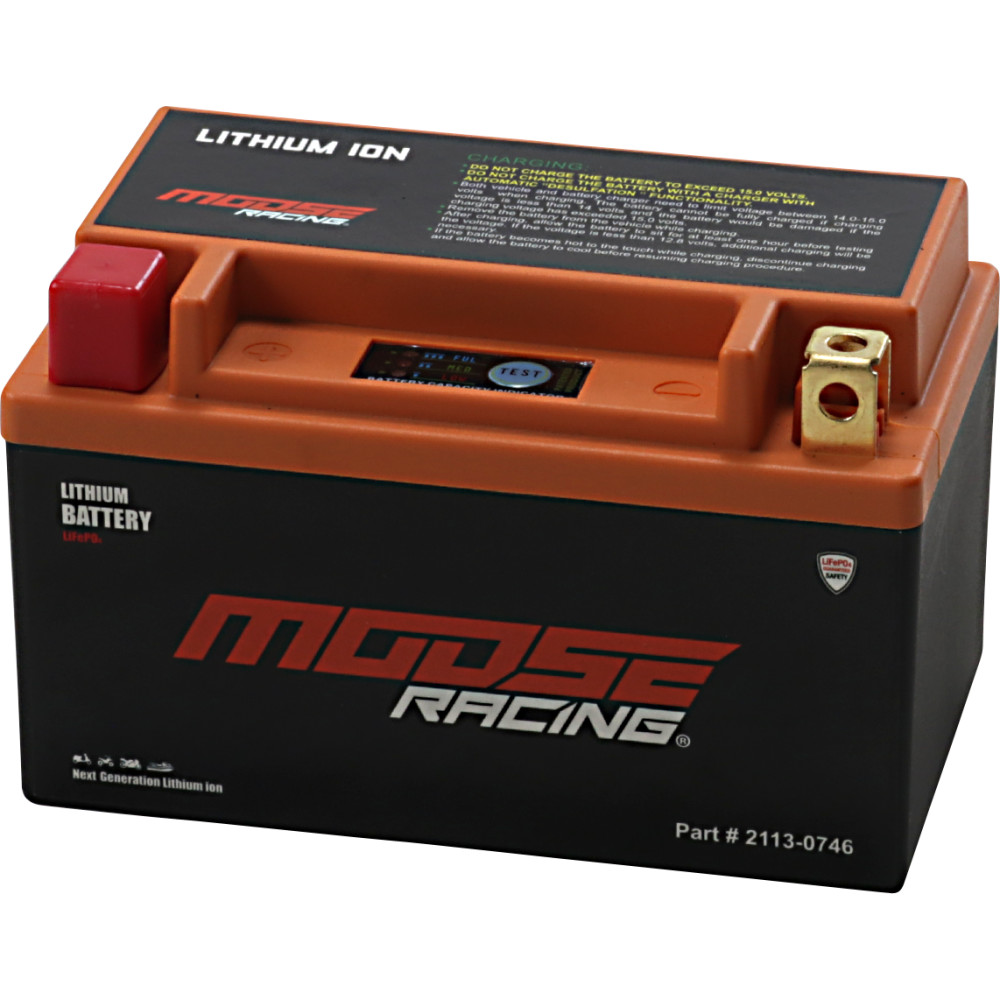 Moose Racing Li-Ion Battery - HUTX14H-FP