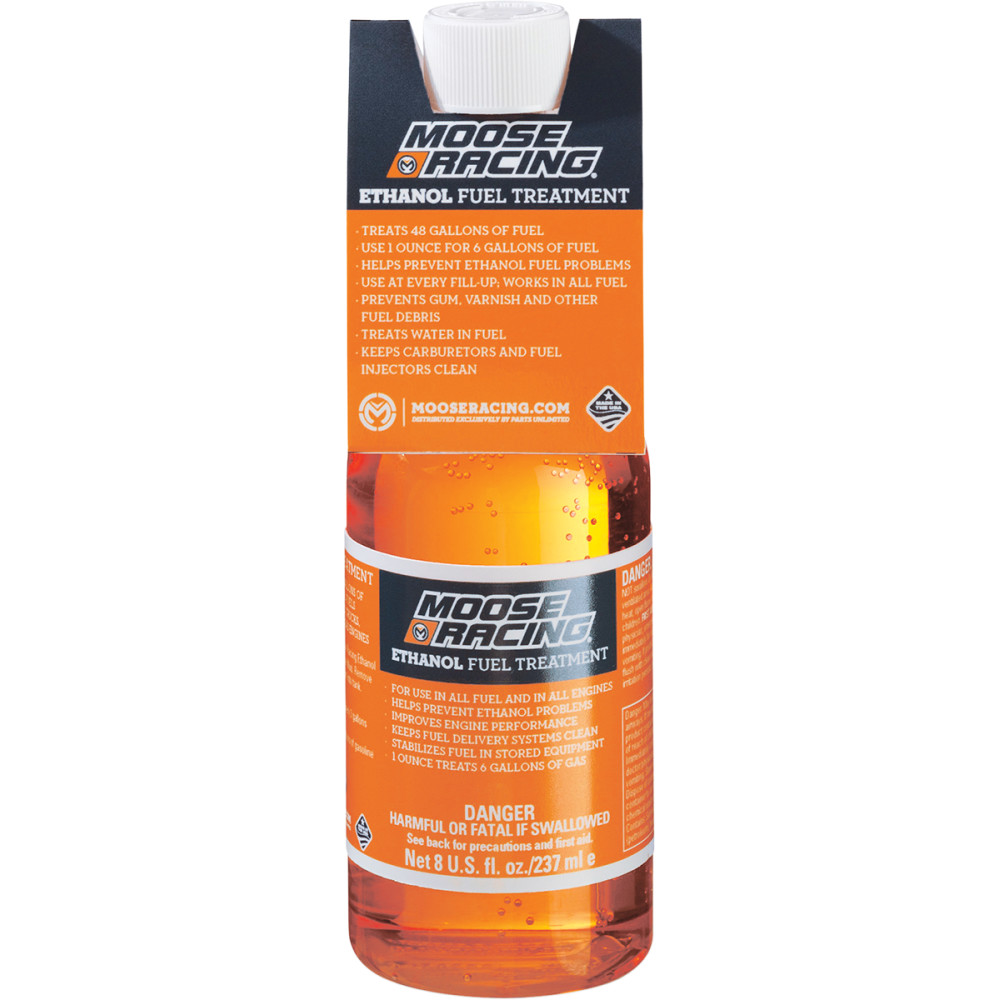 Moose Racing Fuel Treatment - 12 Pack - 8 oz with Display