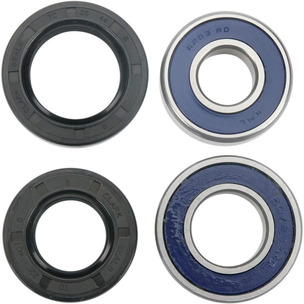 Moose Racing Wheel Bearing Kit - Double Lip