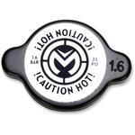 Moose Racing High Pressure Radiator Cap - Black - 1.6 bar