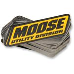 Moose Utility Division Small Mud Sticker - 100 Pack