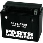 Parts Unlimited AGM Battery - YTX12