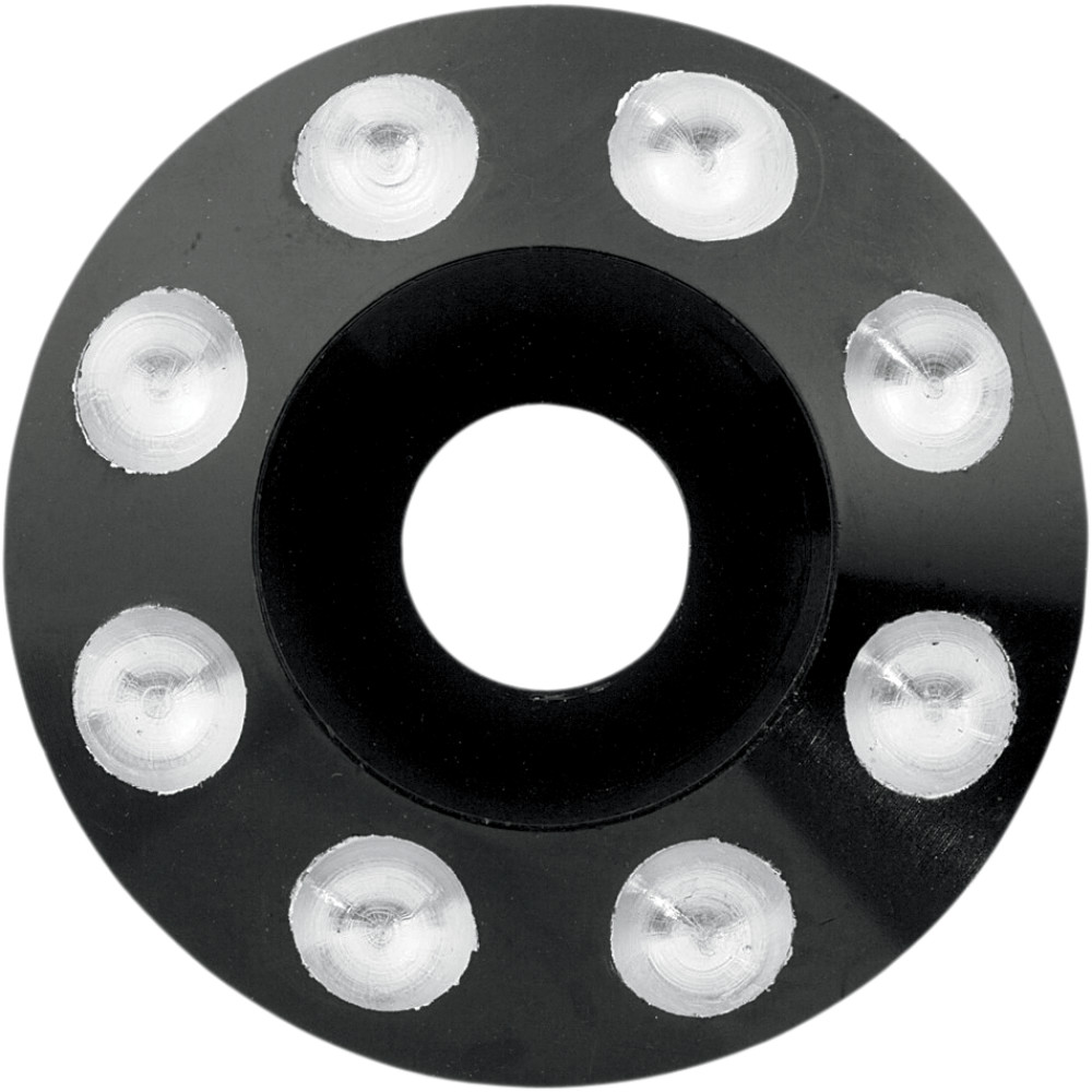 Paul Yaffe Bagger Nation Axle - Domino - Anodized - Black - 25 MM - 08-18 FLHT