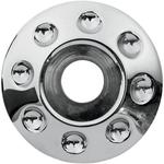 Paul Yaffe Bagger Nation Axle - Domino - Chrome - 25 MM - 08-18 FLHT