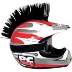 PC Racing Helmet Mohawk (Black)