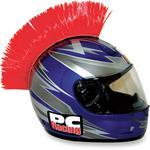 PC Racing Helmet Mohawk (Red)