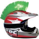 PC Racing Helmet Mohawk (Green)
