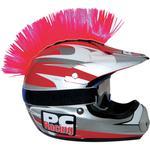 PC Racing Helmet Mohawk (Pink)