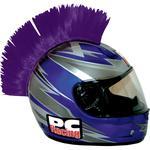 PC Racing Helmet Mohawk (Purple) Saw