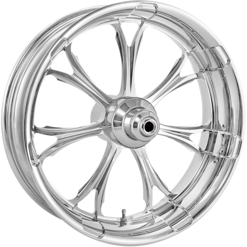 Performance Machine Wheel - Paramount - Chrome - Dual Disc - 21 x 3.5 - 14+ FL