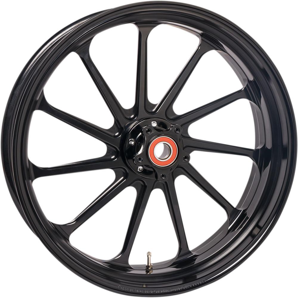 Performance Machine Wheel - Assault - Black - Front - 21 X 3.5
