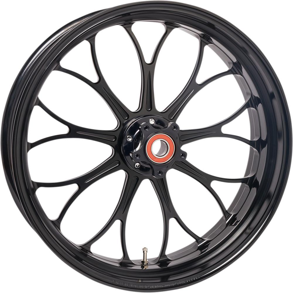 Performance Machine Wheel - Revolution - Black - Front - 21 X 3.5