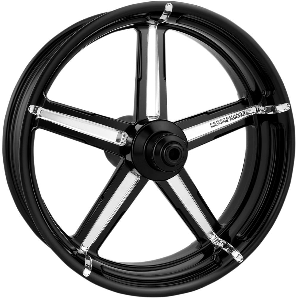 Performance Machine Rear Wheel - Formula - Platinum Cut - 18 x 5.5 - 09+ FLH