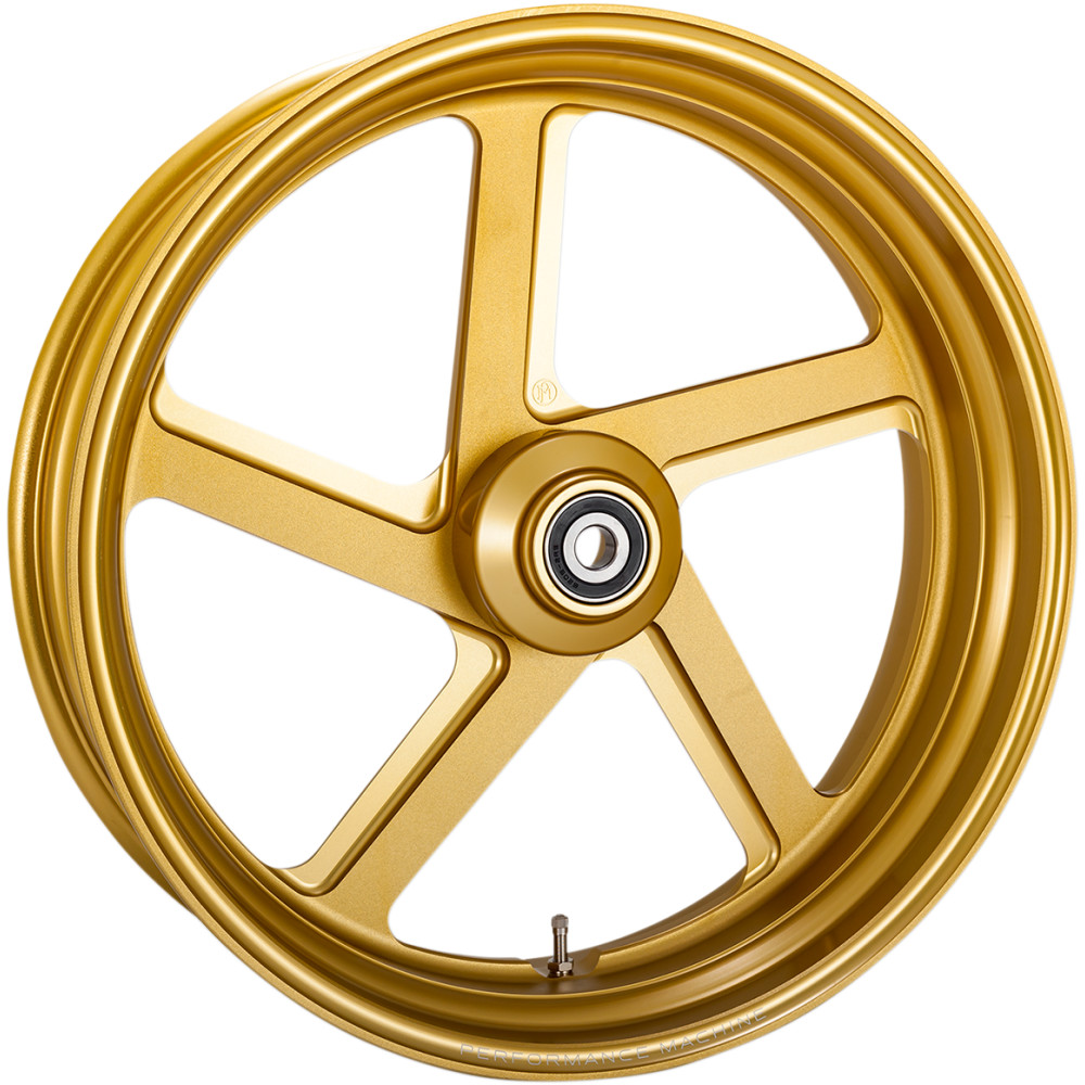 Performance Machine Rear Wheel - Pro-Am - Gold Ops - 18 x 5.5 - With ABS
