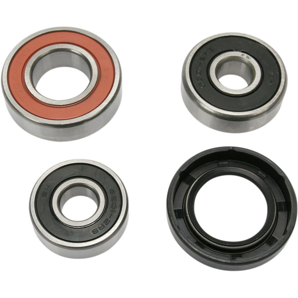 Pivot Works Wheel Bearing and Seal Kit - Double Seal - Rear