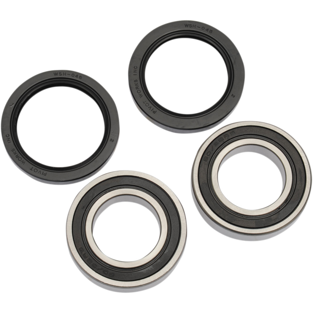 Pivot Works Wheel Bearing Kit - Double Seal - Rear - TRX90