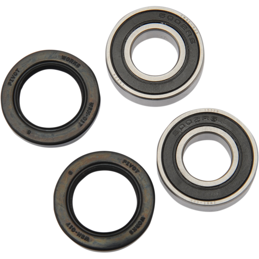 Pivot Works Wheel Bearing and Seal Kit - Double Seal