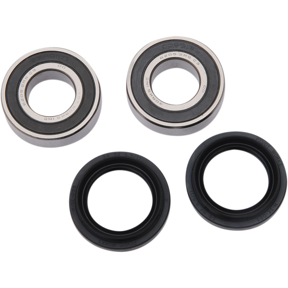 Pivot Works Wheel Bearing - Front - Double Seal