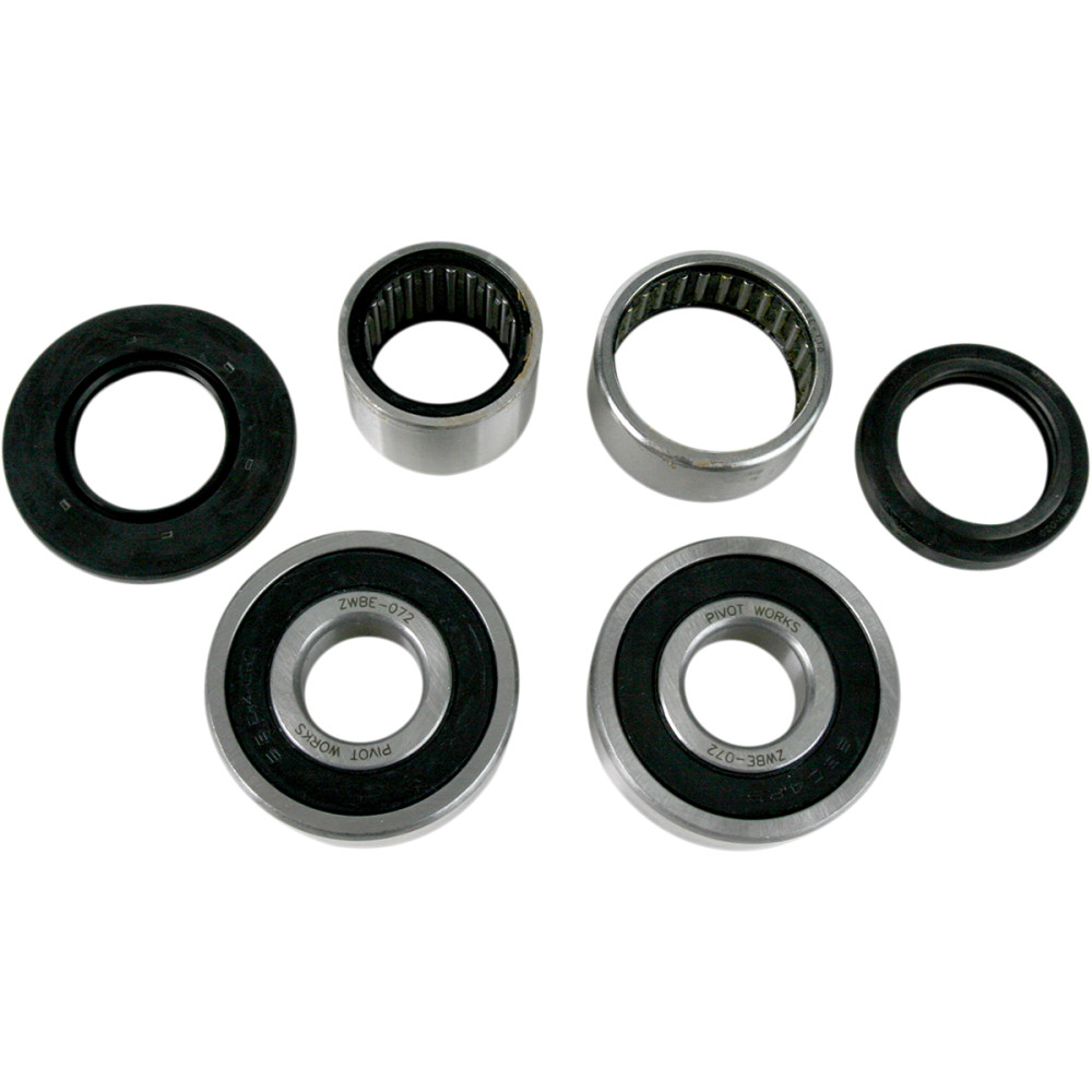 Pivot Works Wheel Bearing and Seal Kit - Double Seal - Rear