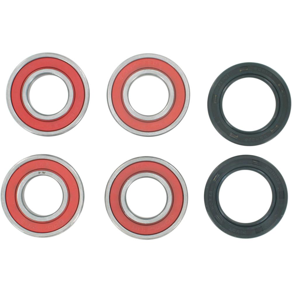 Pivot Works Wheel Bearing Kit - Double Seal - Front