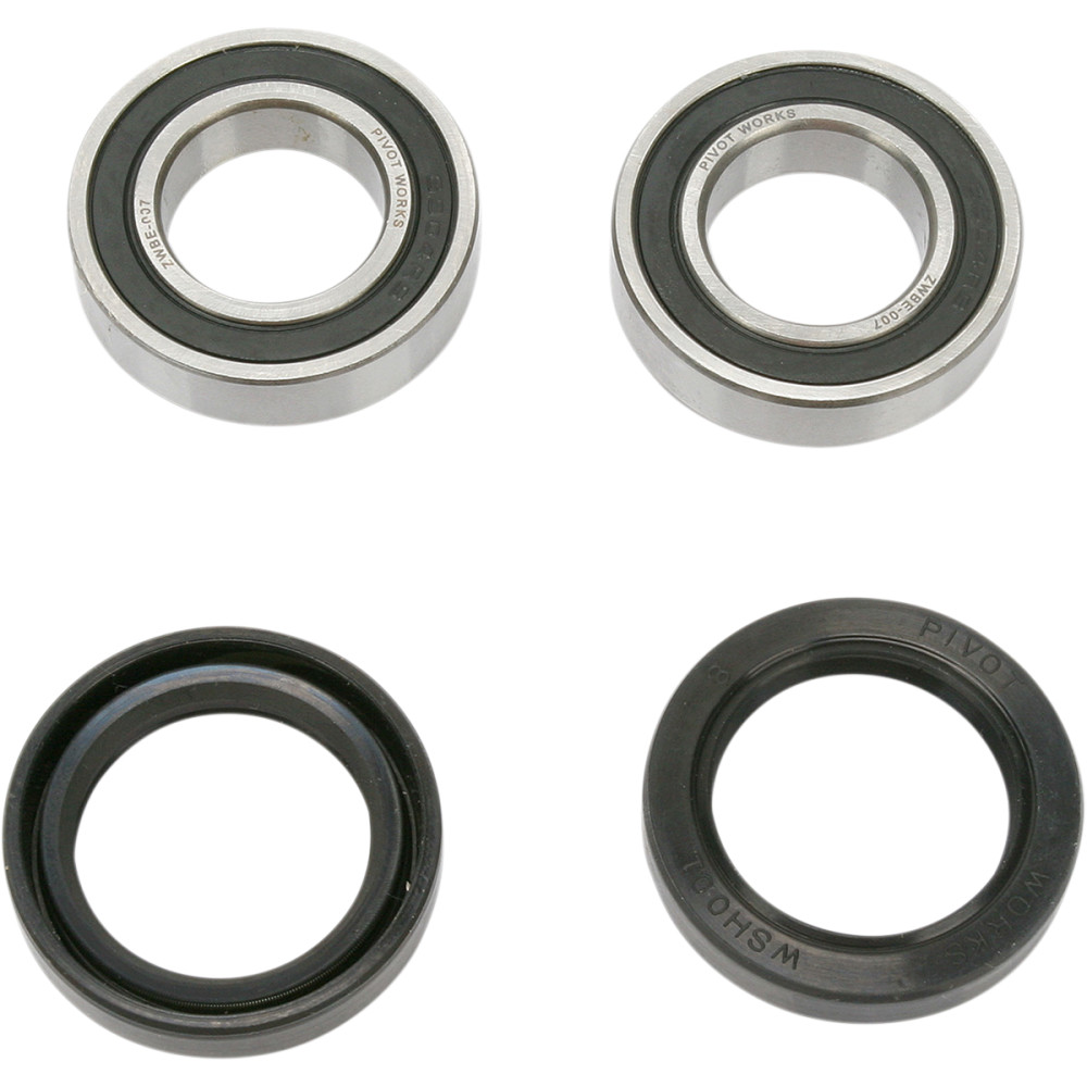 Pivot Works Wheel Bearing and Seal Kit - Double Seal - Front