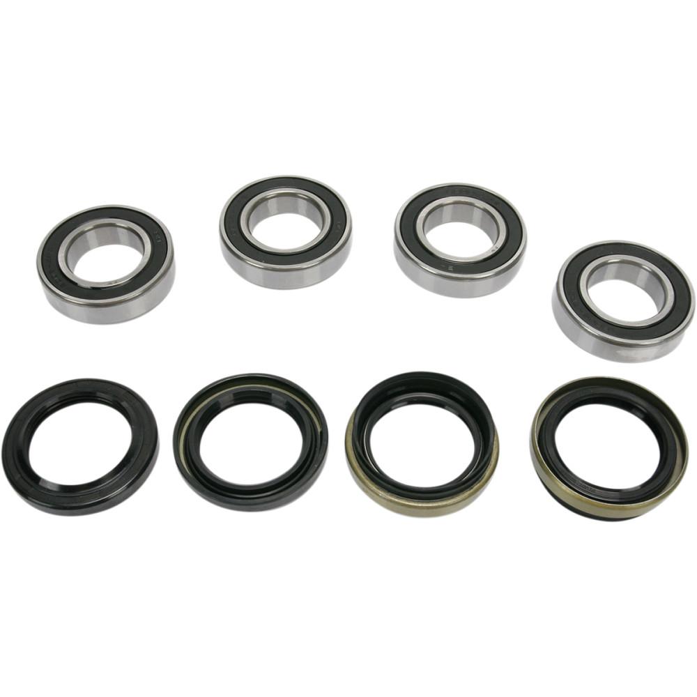 Pivot Works Wheel Bearing Kit - Double Seal - Front - Yamaha