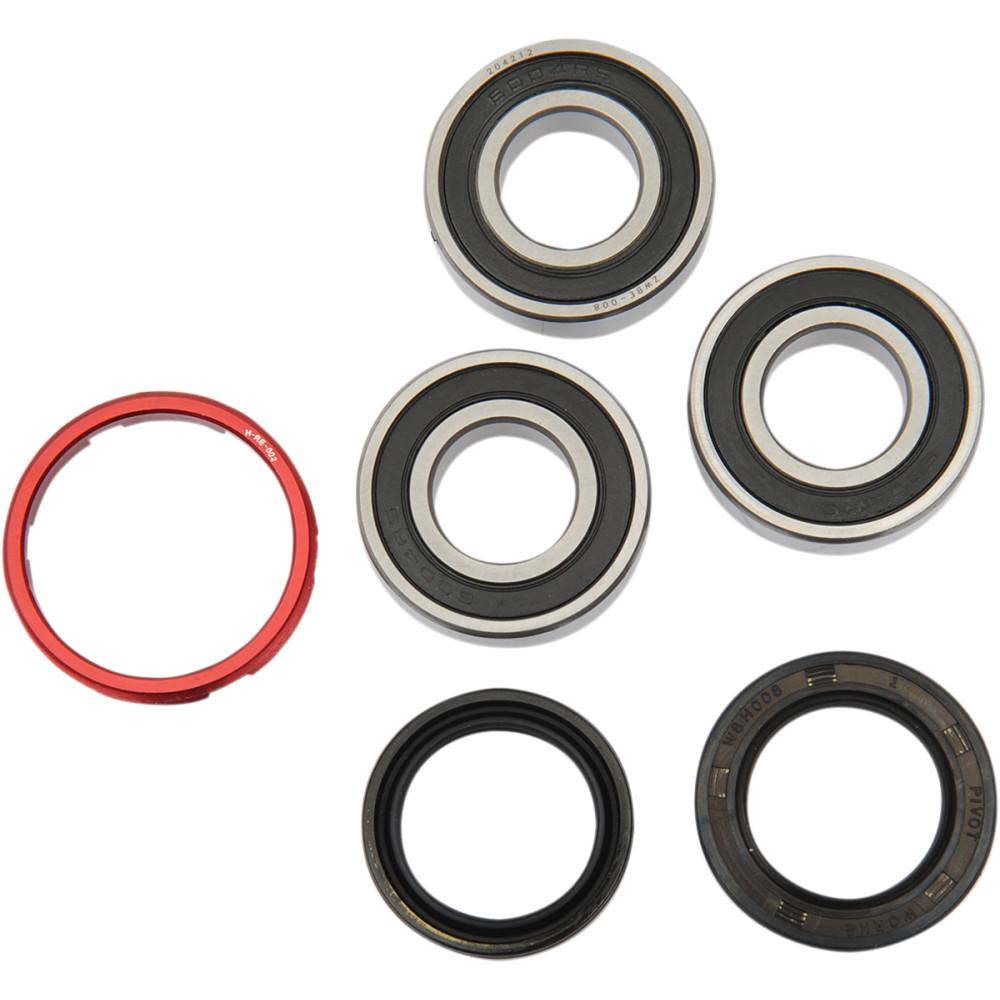 Pivot Works Wheel Bearing and Seal Kit - Double Seal - Rear - Honda