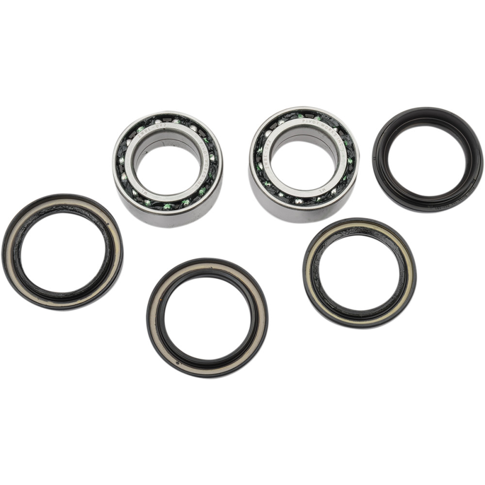 Pivot Works Wheel Bearing Kit - Double Seal - Rear - RINCON