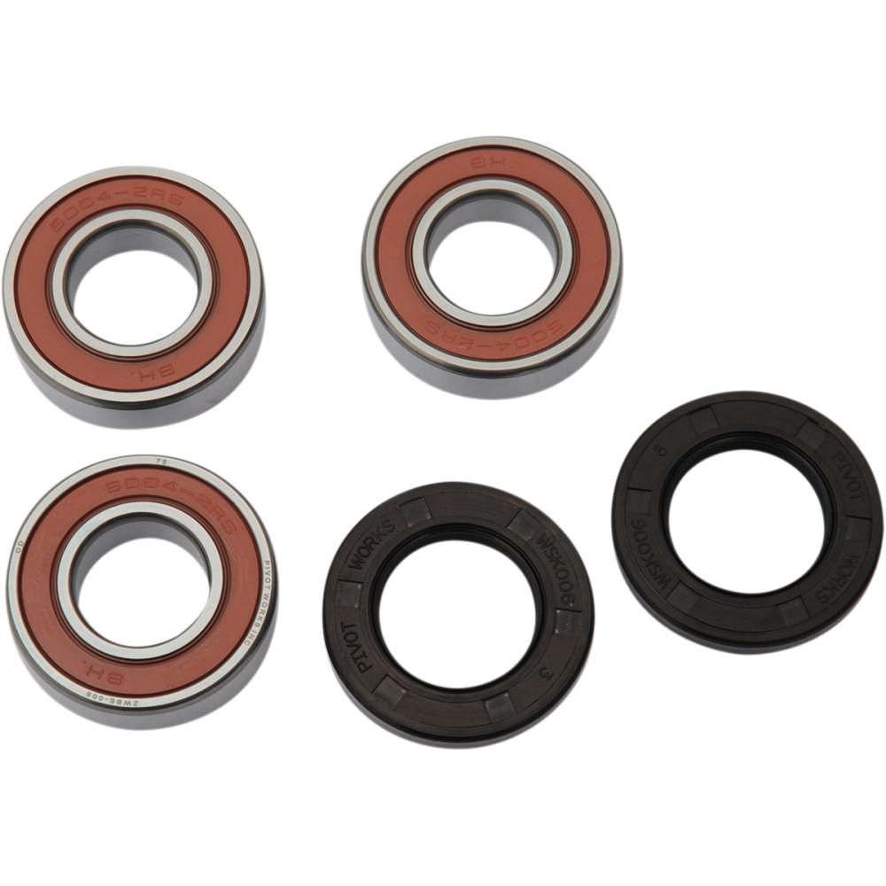 Pivot Works Wheel Bearing and Seal Kit - Double Seal - Rear - Kawasaki