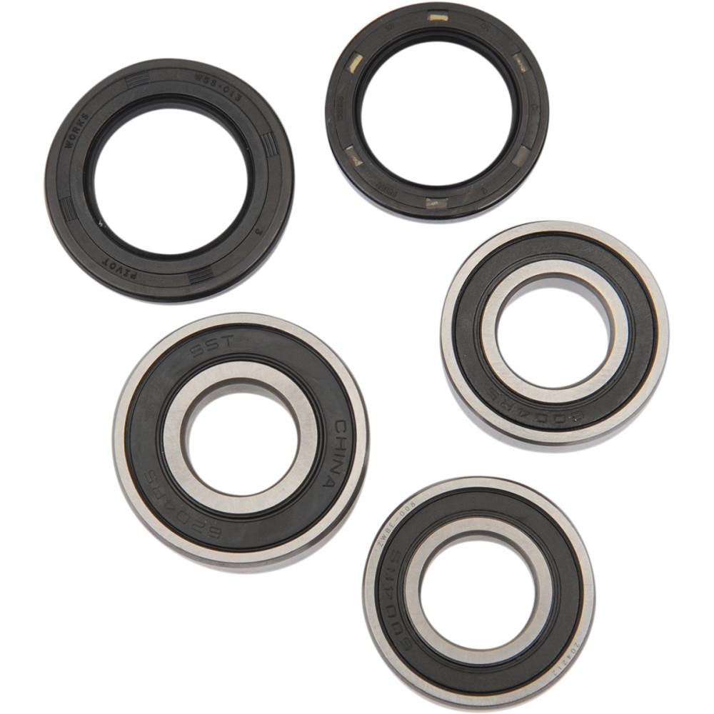Pivot Works Wheel Bearing and Seal Kit - Double Seal - Rear - Suzuki