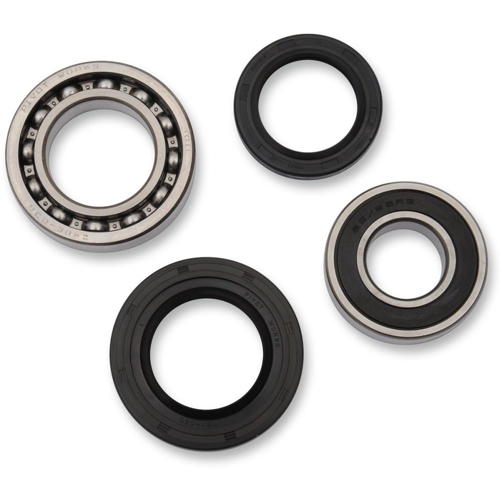 Pivot Works Wheel Bearing Kit - Double Seal - Rear - Yamaha