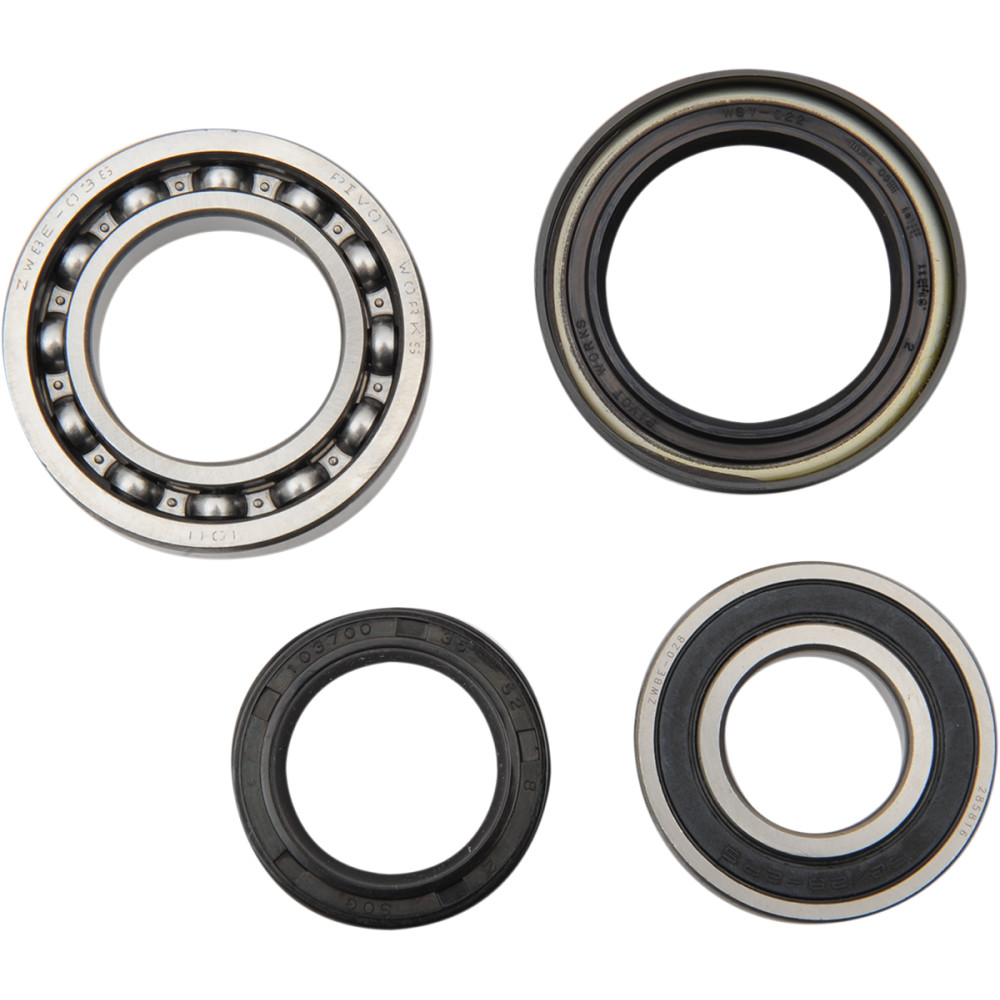 Pivot Works Wheel Bearing Kit - Double Seal - Rear - Yamaha