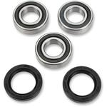 Pivot Works Wheel Bearing and Seal Kit - Double Seal - Rear - Suzuki