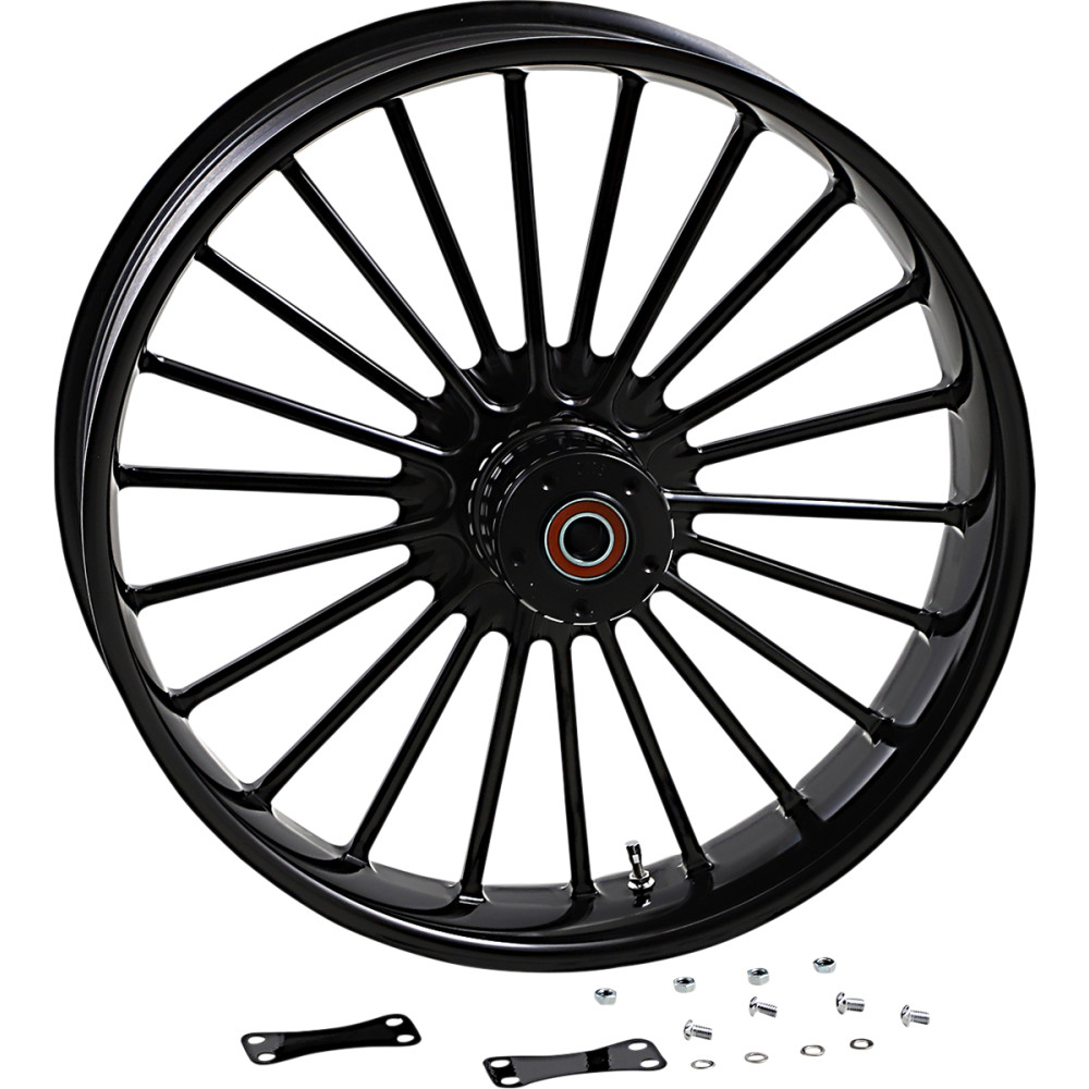 RC Components Front Wheel - Illusion - Black - 21 X 3.5 - No ABS