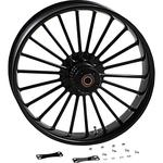 RC Components Front Wheel - Illusion - Black - 21 X 3.5 - With ABS