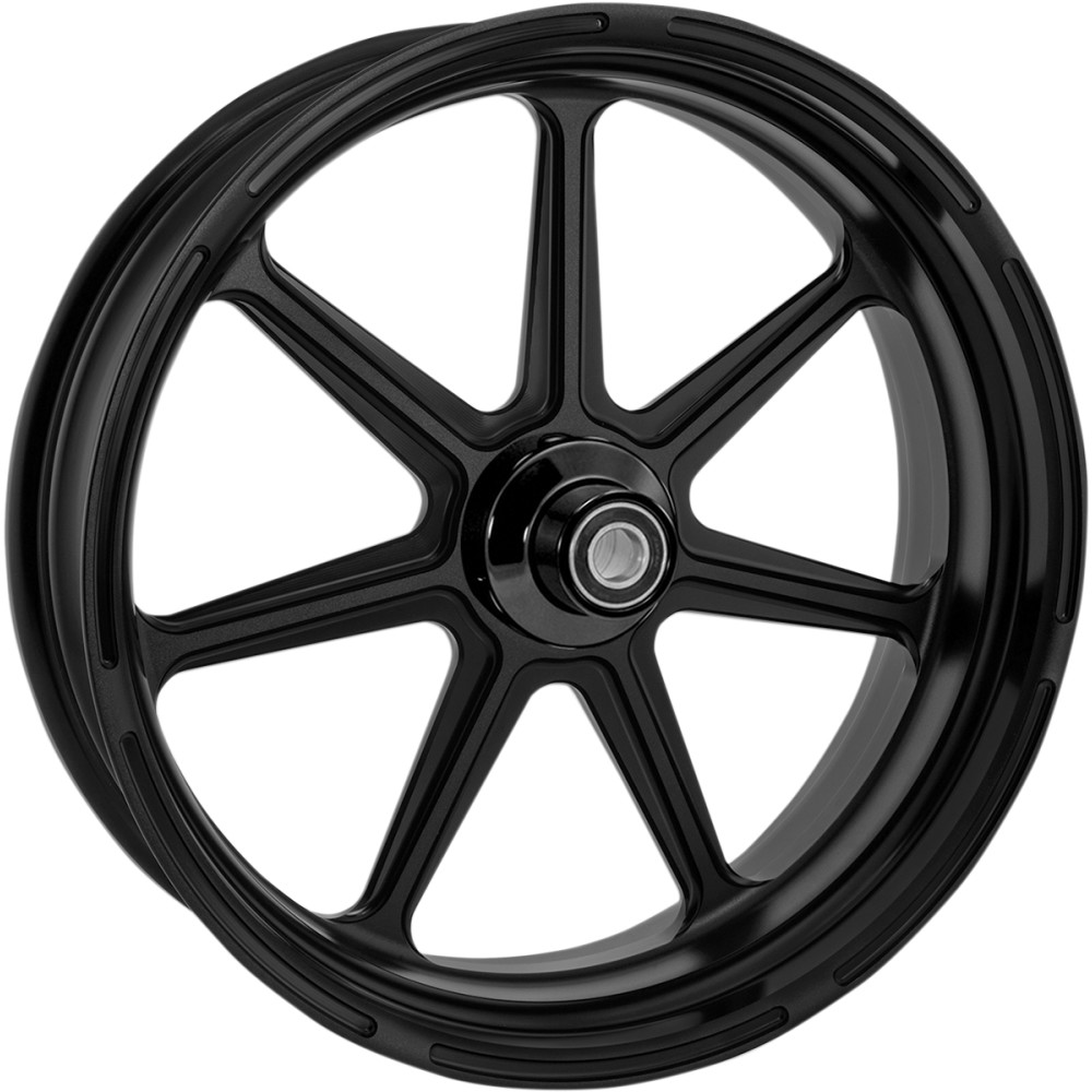 Roland Sands Design Wheel - Morris - Black Ops - Dual Disc - 21 x 3.5 - 14+ FL