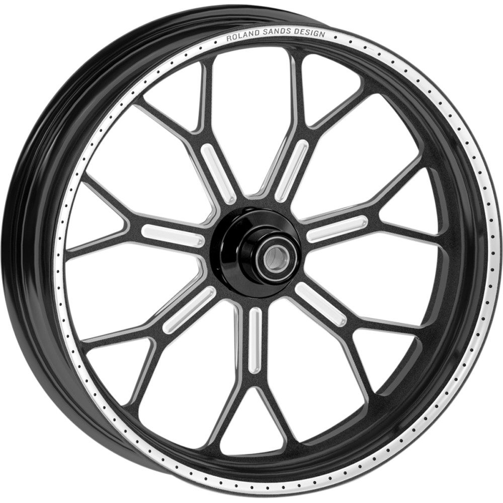 Roland Sands Design Wheel - Delmar - Contrast Cut Ops - 21 x 3.5 - With ABS - 14+ FLD